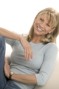 Happy Relaxed Woman
